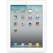 Apple iPad 2 (White, 16GB) Wi-Fi + Cellular (Unlocked) Good